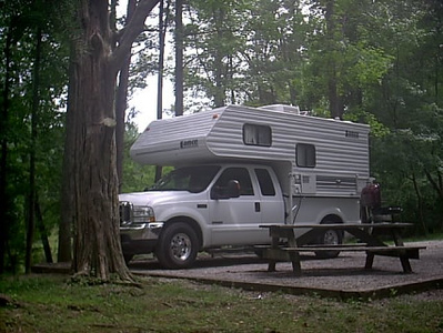 Tennessee <br /> We went from Cleveland, Okla to Nachez Trace (Tenn.) state park in one day