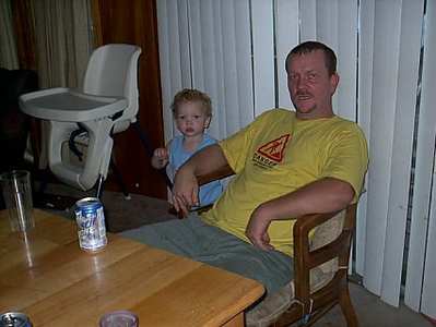 Cleveland,Okla. <br /> My son-in-law Dale and grandson Jefferson