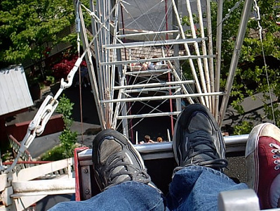 Dollywood <br /> I haven't been on a ferris wheel in yrs.Nice slow ride.