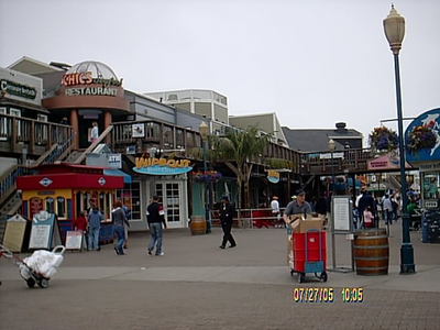 The California Weclome Center is located on pier39 along with lots of shops.
