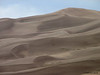 Great Sand Dunes Natl Park, Co. There's a hiker just to the left of the highest dune.
