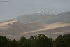Great Sand Dunes Natl Park, Co. Sangre de Cristos in the background  - late evening, 5/21.