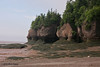 Hopewell Rocks Prov Park, NB at low tide on the Bay of Fundy.