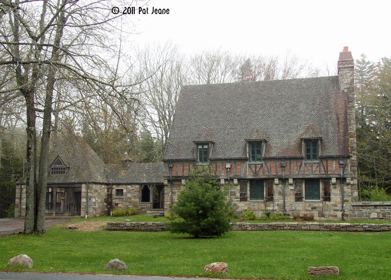Carriage House, Jordan Pond area, Tour Loop Road, Acadia NP.