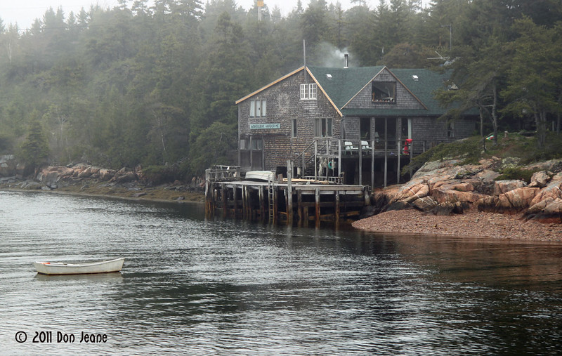 Private residence, Schoodic Peninsula.