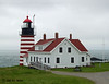 Quoddy Head Lighthouse, Lubec, ME. Easternmost point in USA.