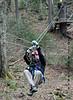 Bretton Woods Canopy Tour. Another short zip.