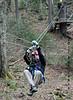 Bretton Woods Canopy Tour. Another short zip.