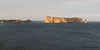 A portion of the town of Perce', QC and Perce' Rock, 05/26.