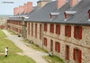 Govenor's Apartments, Fortress Louisbourg Natl Historic Site. 5000 bottles of wine (in 1740).