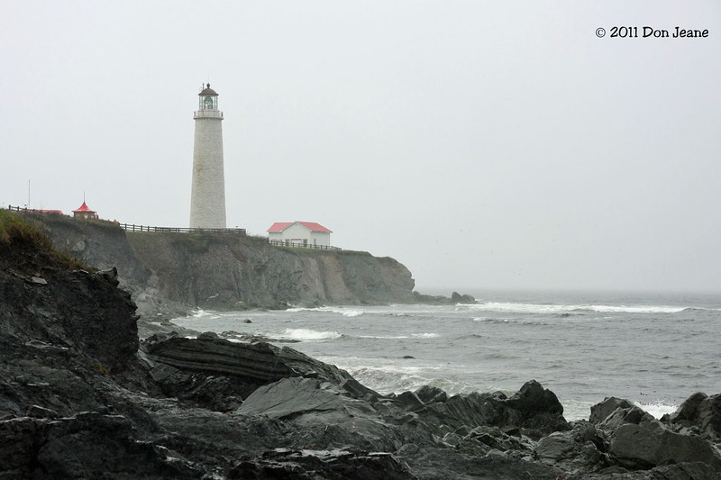Cap-Des-Rosiers Lighthouse. Forillon Natl Park.