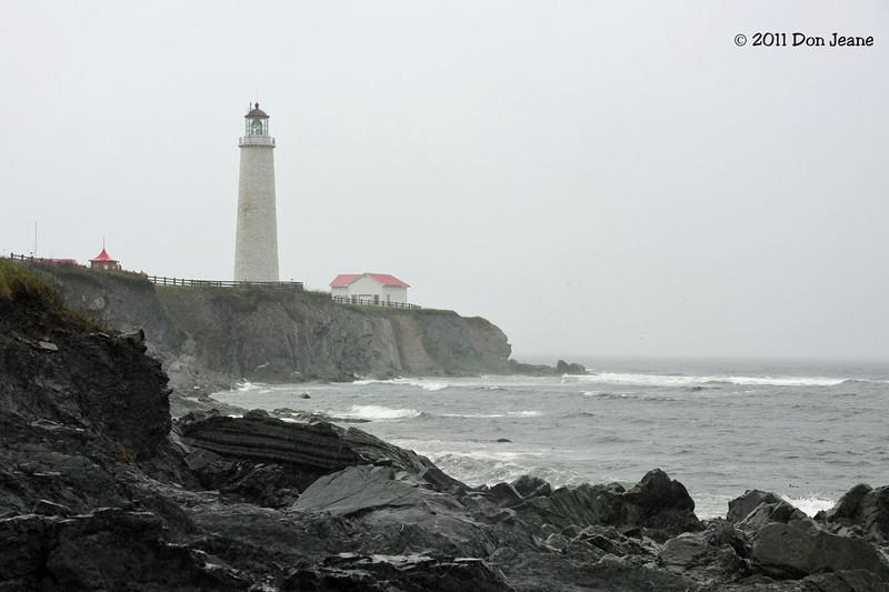Cap-Des-Rosiers Lighthouse. Forillon Natl Park.