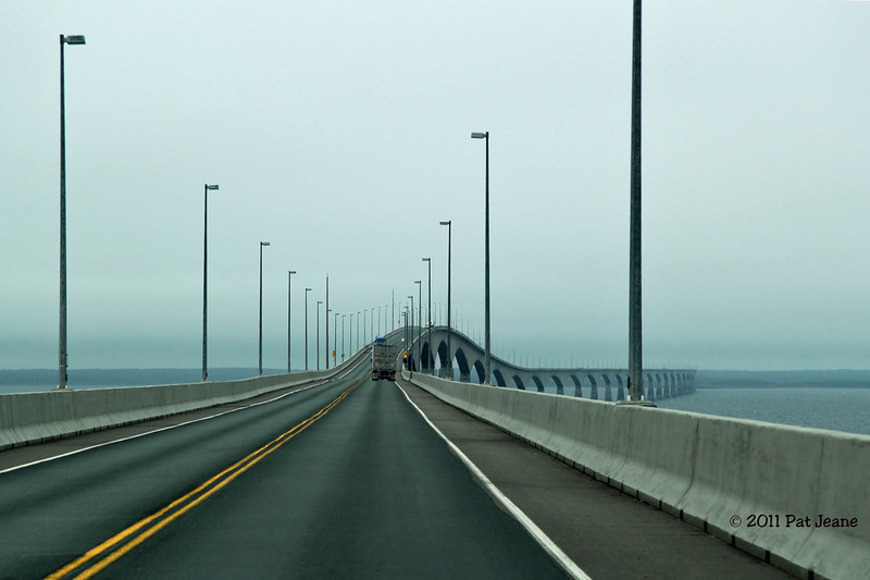 Confederation Bridge - connects New Brunswick to Prince Edward Island. Spent 06/05 - 06/07 on PEI.