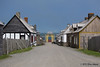 Fortress Louisbourg Natl Historic Site. Main street / Frederic's Gate.
