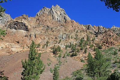 8/17/11 View from dirt road between Lundy Lake Resort and Lundy Canyon trailhead. Eastern Sierras, Mono County, CA