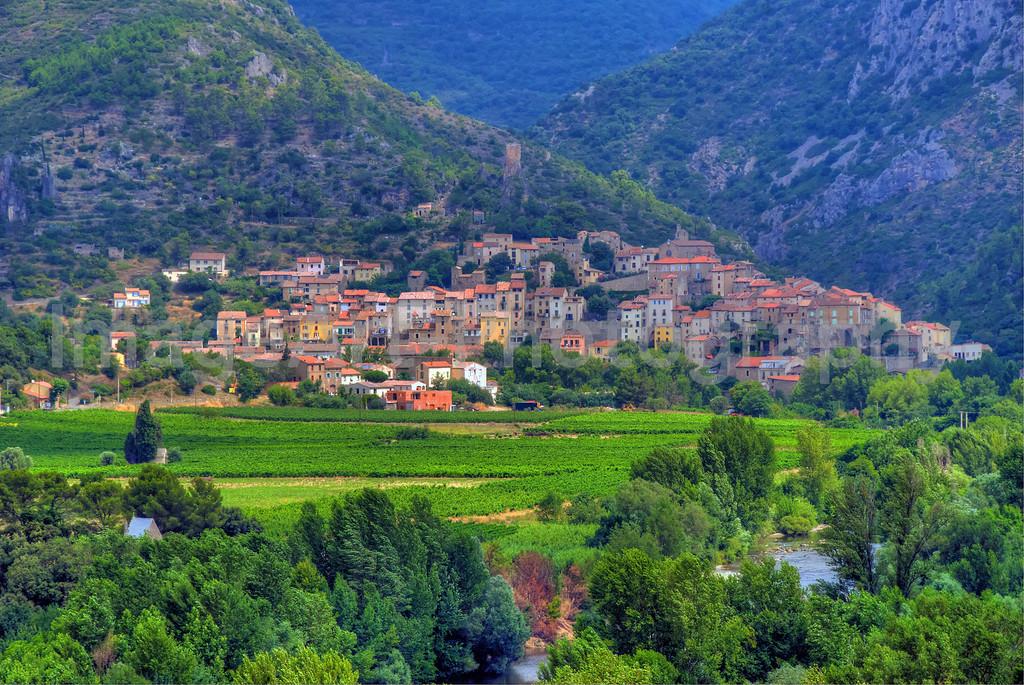 Roquebrun, Languedoc Roussillon