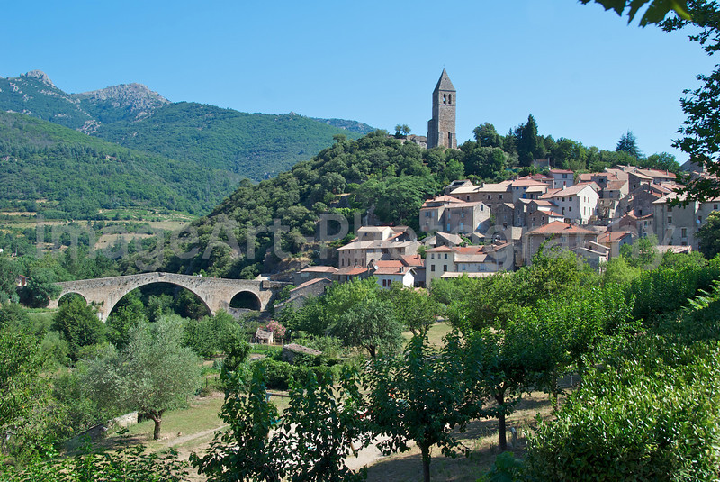 Olargues, France