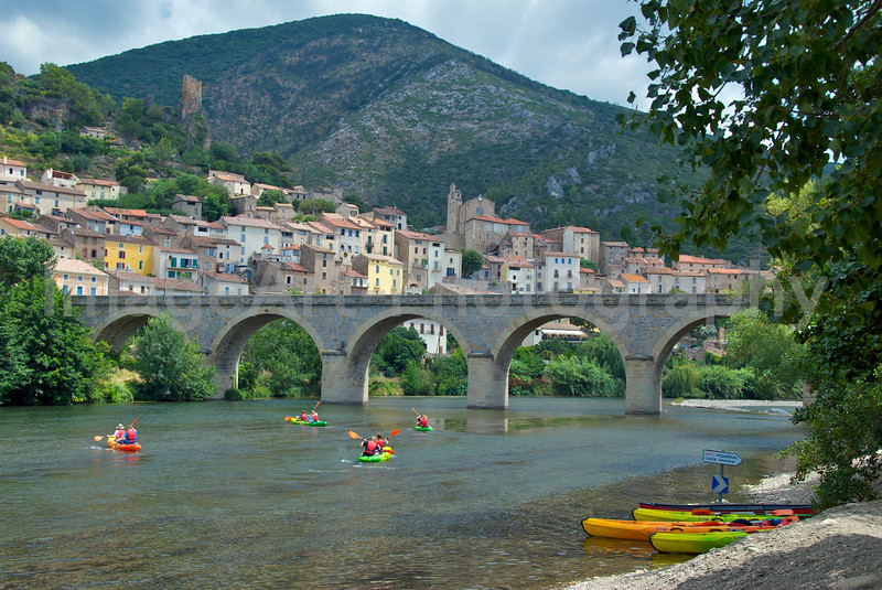Canoeists in France