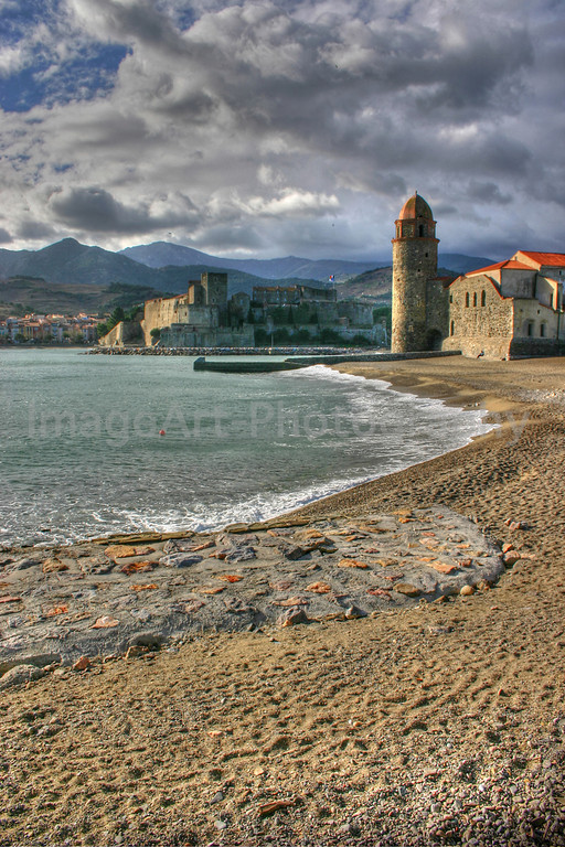 Storm over Collioure
