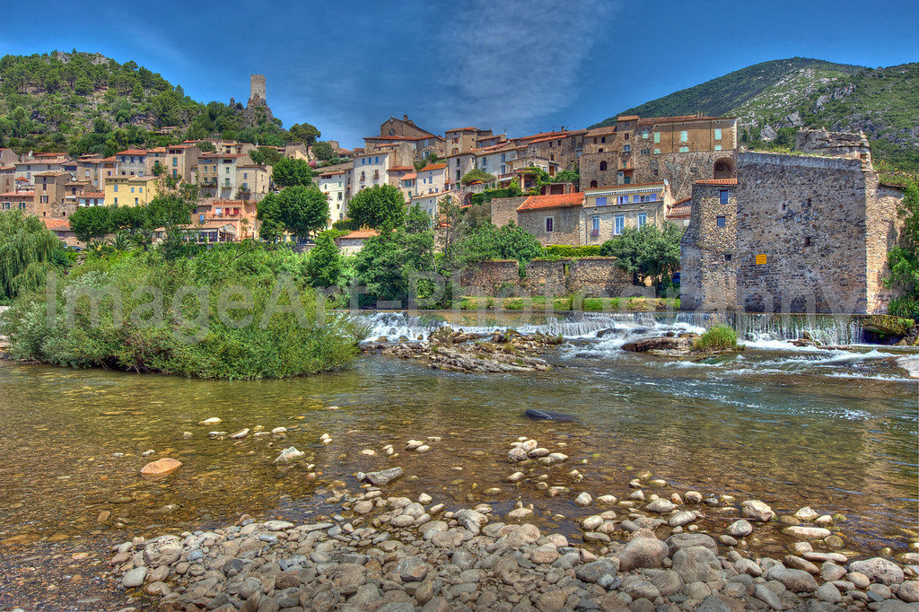 Roquebrun on the River Orb