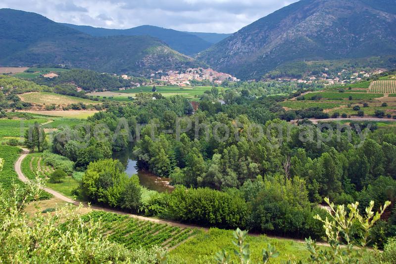 River Orb to Roquebrun