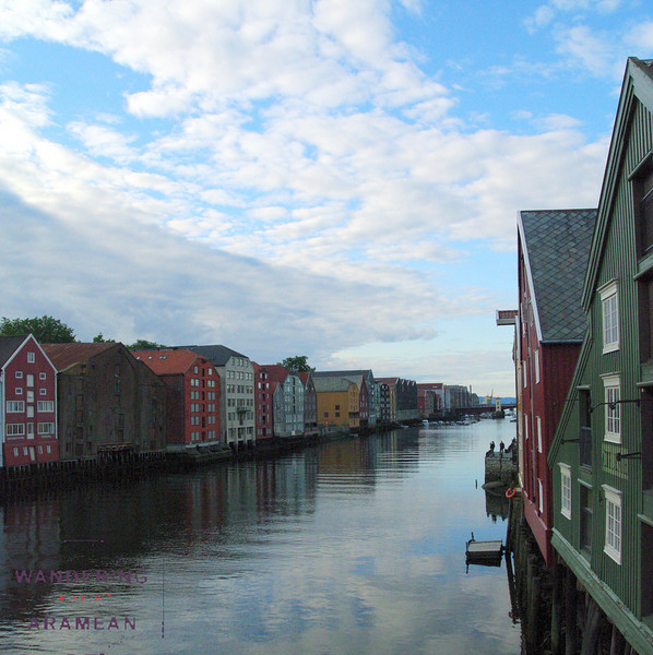 The warehouse district of Trondheim