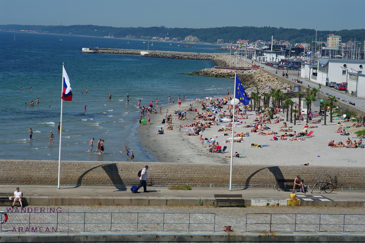 A Swedish beach in Helsingbor