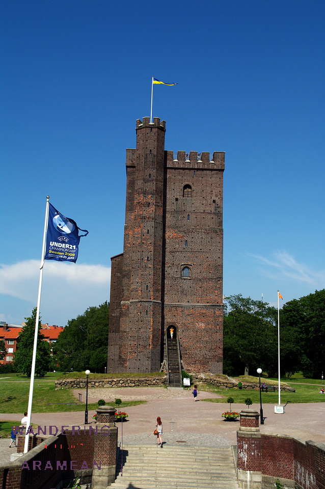 All that remains of the 1500s-era castle in Helsingbor