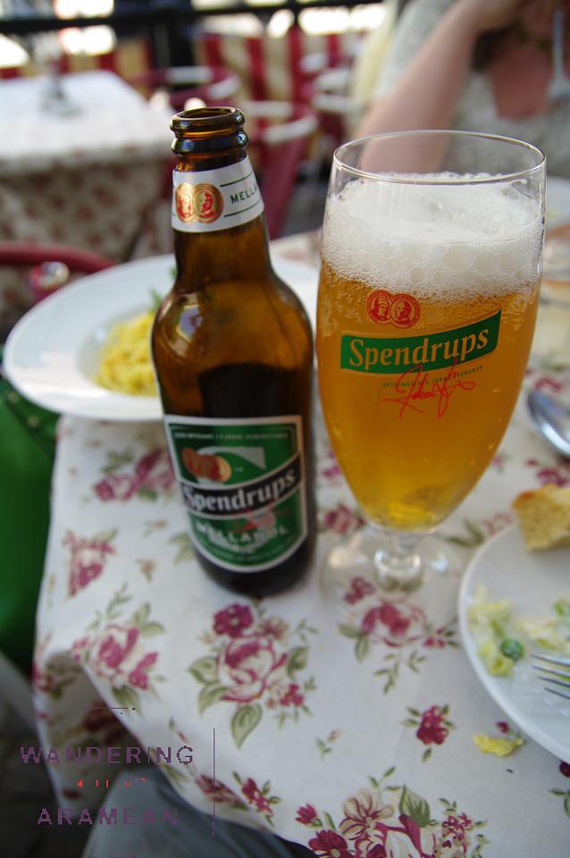 Beer, Swedish style.
