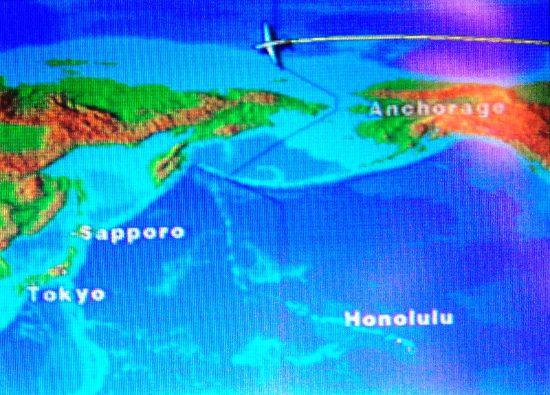 "Time Machine<br /> <br /> On Cross Pacific Flight to China - crossing international time line.<br />  <a href=""http://sillymonkeyphoto.com"">http://sillymonkeyphoto.com</a>"