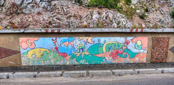 Chimbulak Murals #3  http://sillymonkeyphoto.com/2012/01/24/chimbulak-murals-3-and-4/