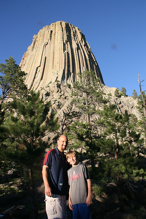 Day 11 - Cody to Devils Tower June 25