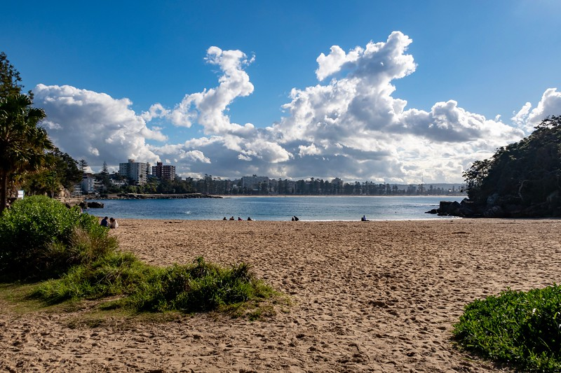 Later in the day, I took a ferry to a beach a bit away from Sydney named Manly.  Went on a nice hike around the area and had some great views of the ocean and city.