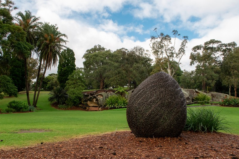 While I didn't have near enough time to see all of it, the Sydney Botanical Garden was quite nice - even in winter!