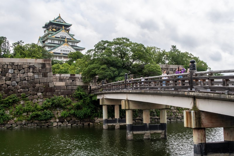 The second castle of the day was the lovely Osaka Castle, in the large city of Osaka.  This is not the original...it has been destroyed and rebuilt many times.  One of the most recent was some unnamed country bombed it in 1945.  Quite a beautiful place in the heart of Osaka.
