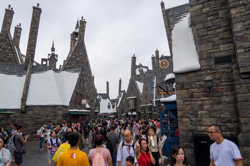 Hogsmeade - exactly what you'd find in Orlando.