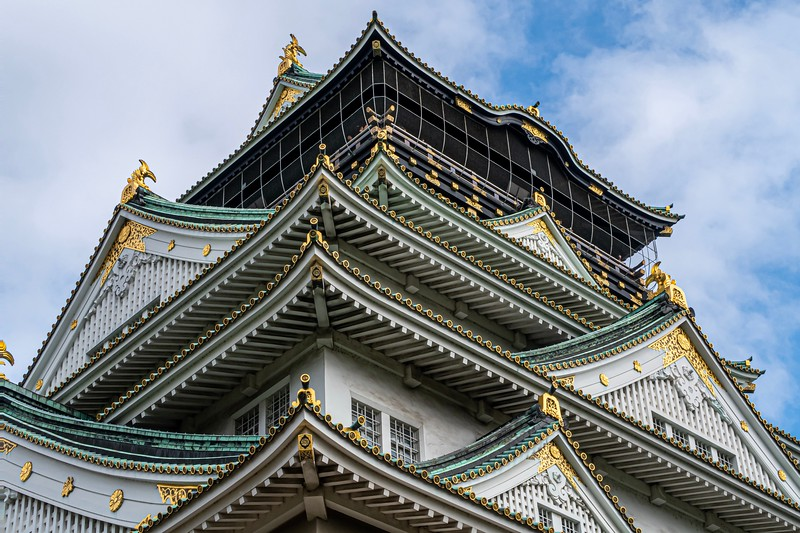 Nice detail work!  There's something quite beautiful about Japanese castles compared to the European ones (one important one found later in this album excepted)