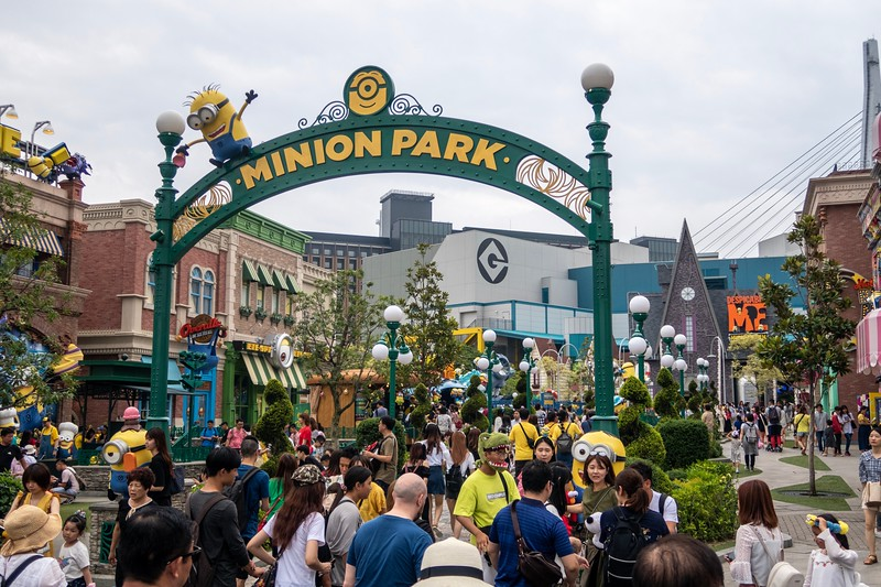 They even had a Minion Park - it was quite cute.