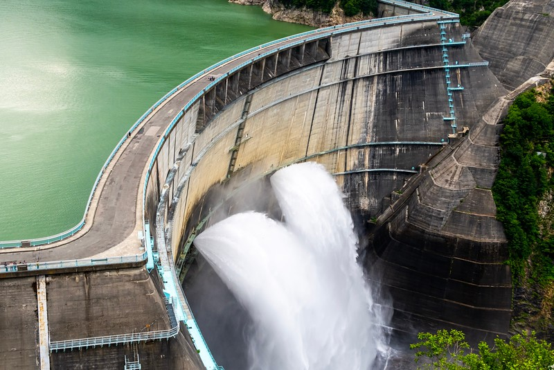 Cool looking dam.