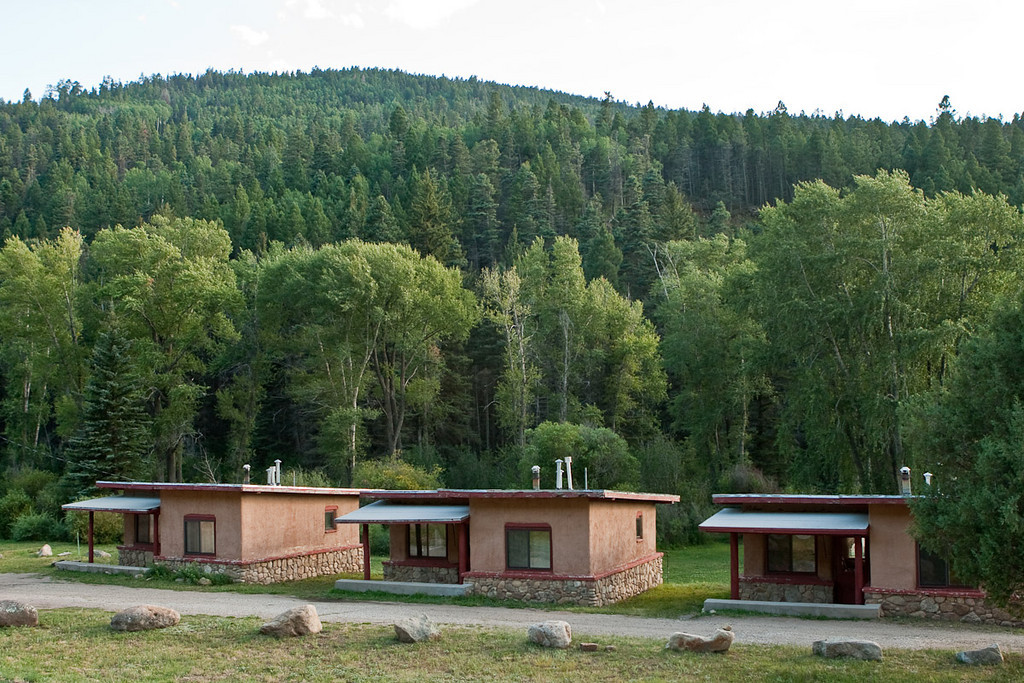 Pure nostalgia here. These are some of the cabins at Sipapu. Juanita and I stayed here with Sherron, Mahdi, and Robin on a ski trip once.