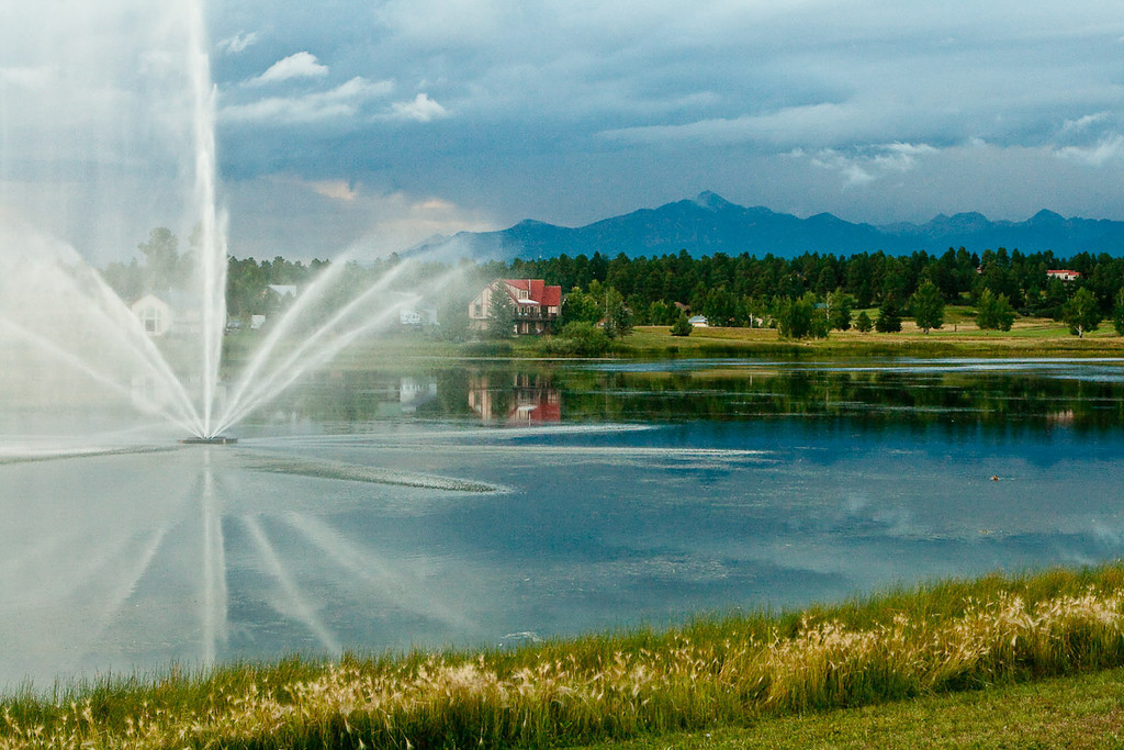 Pagosa Springs Golf Course, Pagosa Springs, Colorado.
