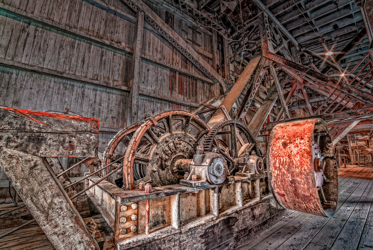 hdr gritty machinery