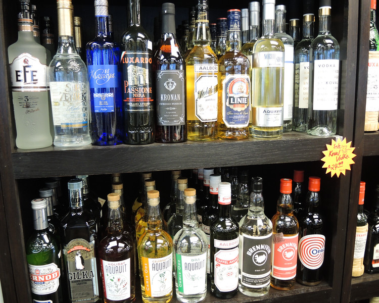 """I told Björn and his family, we saw a sign down the street,  """"We have aquavit.""""  Best selection I have seen in the USA, anywhere and they can UPS to OHIO."""