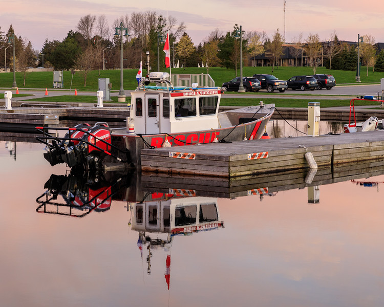 Rescue boat Bruce A. Sutcliffe.