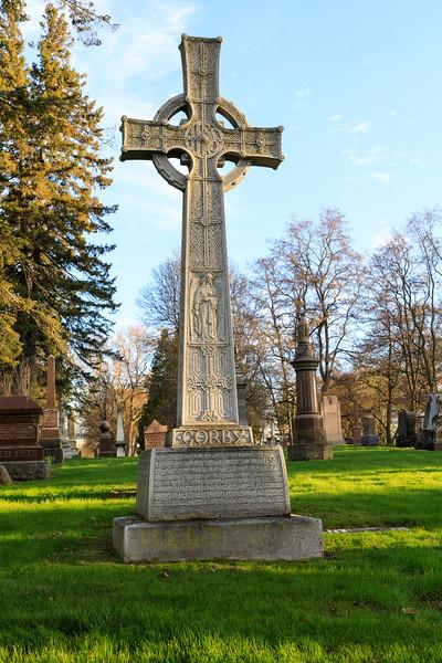 Senator Henry Corby tombstone.
