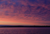 Purple skies across the Bay of Quinte from Jane Forrester Park in Belleville before sunrise.