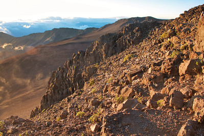 Sunrise at Haleakala Summit