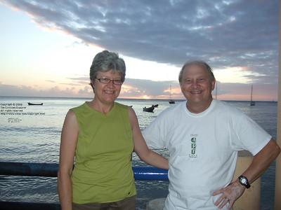 Sunset at Anse d'Arlet, 2008