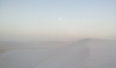 Sand Storm at White Sands