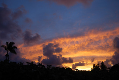 Kilauea Backyard August 31, 2012